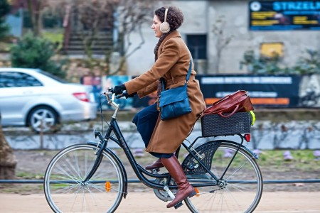 Przedsiębiorcy na rowery