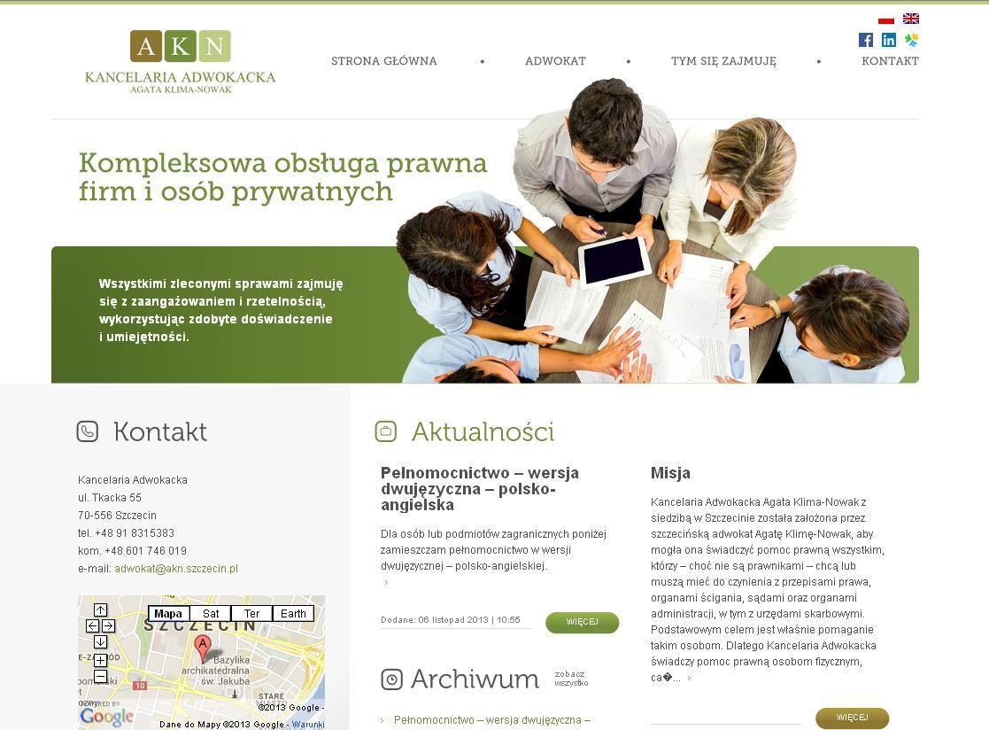 adwokat Szczecin pełnomocnictwo